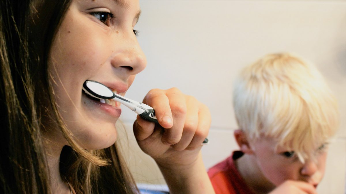 La importancia de cepillarse los dientes